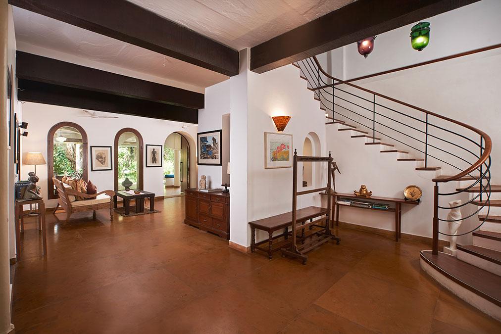 Main Villa Staircase